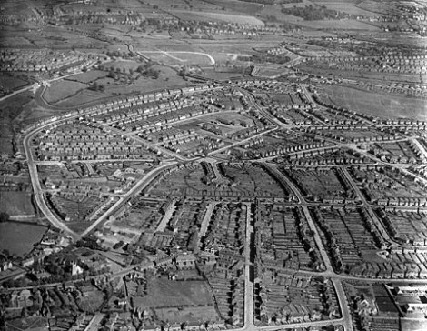 Blakenall from the air, 1939 (WLHC)