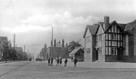 Bloxwich Road, Leamore, c1920's - 30's (WLHC)
