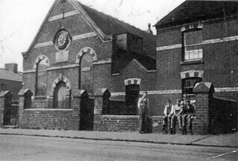 Booth Street Chapel, Blakenall Heath, 1930s (Cliff Webb)
