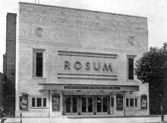 The Rosum cinema, Leamore, about 1936 (WLHC)