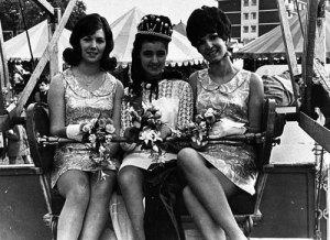 Bloxwich Carnival Queen, 1960s