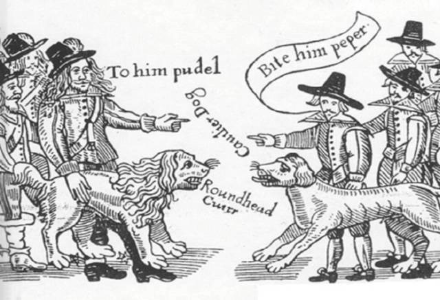 Roundheads v Cavaliers (Walsall v Bloxwich and The Foreign), mid 1600s