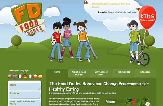Food Dudes Website