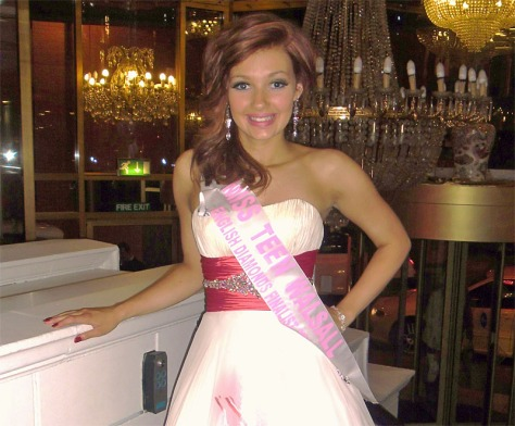 Jessica Watts, Mayor's Ambassador and Miss Teen Walsall.