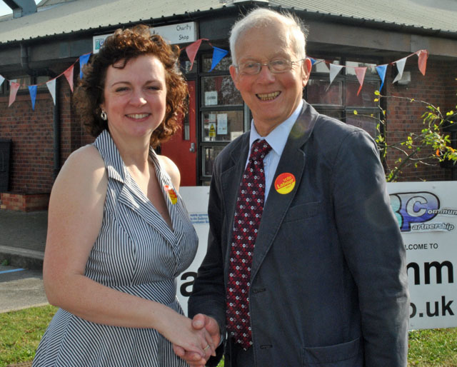 Julie Fitzpatrick has the support of David Winnick, MP.