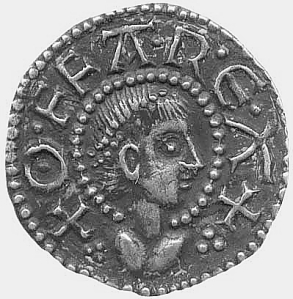 Coin of Offa, King of Mercia from 757 until his death in July 796