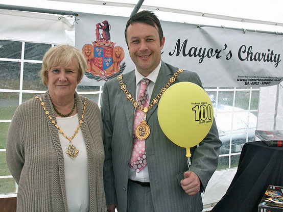 Mayor and Mayoress of Walsall