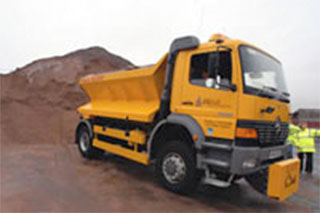 Walsall grit routes are tested for winter