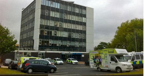Walsall Police Station, Green Lane.