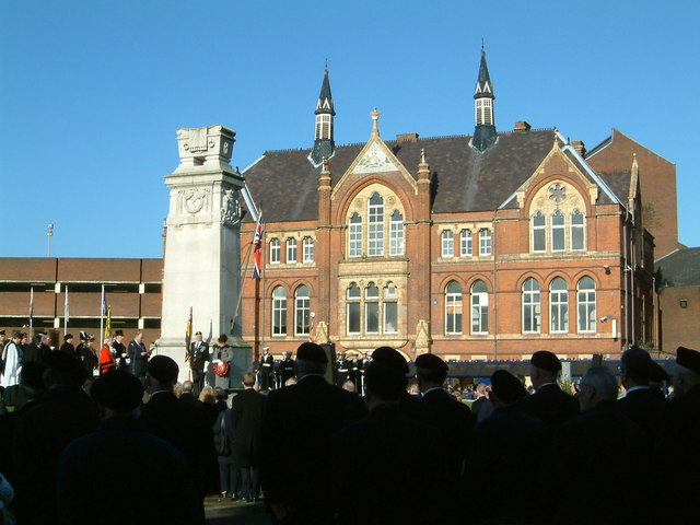 Walsall Remembrance Sunday. Picture by Frank Smith.