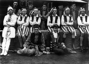 Walsall Times staff at Bloxwich Carnival, 1930.