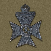 Badge of the Kings Royal Rifle Corps (Wikimedia Commons).