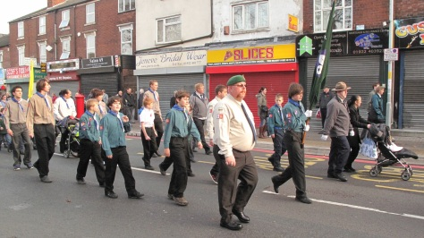 Bloxwich Scouts.