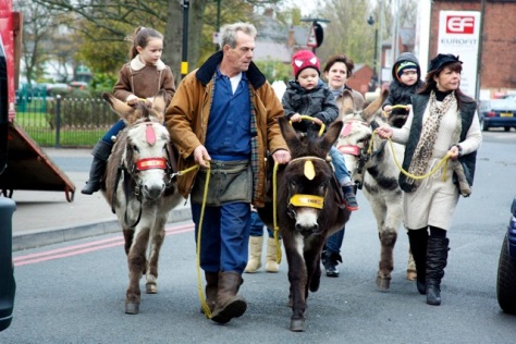 Donkey Derby? No, Park Rd Bloxwich!