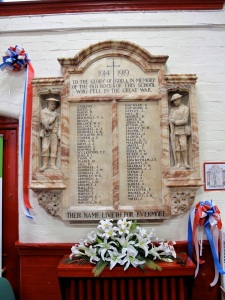 Elmore Green School War Memorial - click to read.