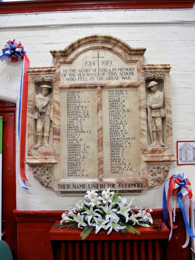 Appeal for info on Elmore Green School Memorial men
