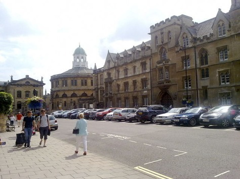 Exeter College, Oxford (Wikimedia Commons).