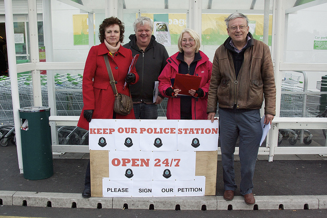 Campaign against cuts to Bloxwich police station hours