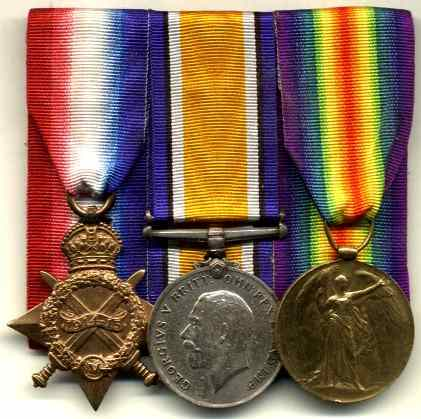 Similar medals to those stolen.