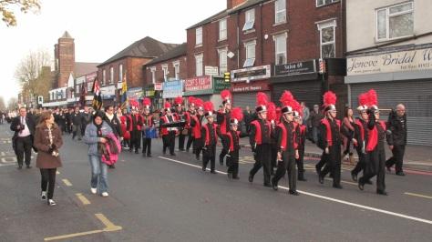 A past Remembrance parade in Bloxwich (pic Stuart Williams)