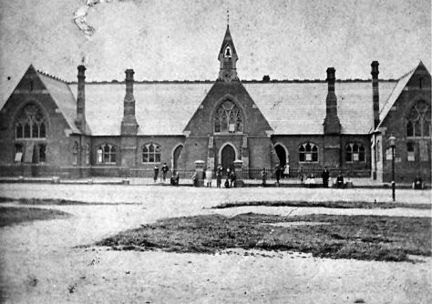 The school in the late 1800s