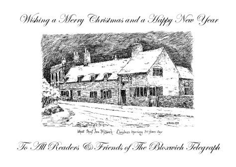 Bloxwich Telegraph Christmas Card 2011