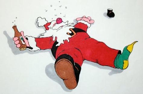 Drunken Santa