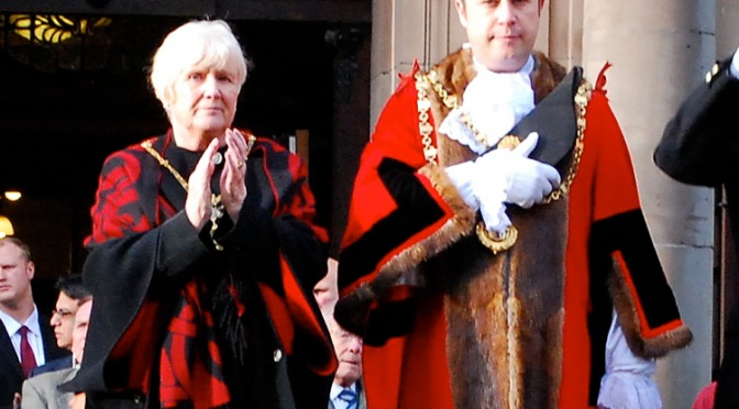 The Mayor and Mayoress of Walsall
