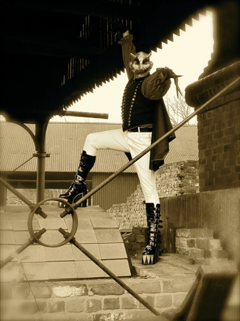 Spring-heeled Jack (alias Jonathan Goodwin)