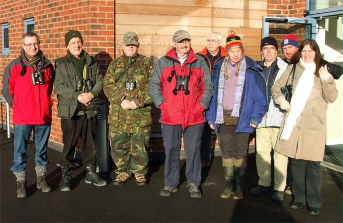 Stan Ball Birdwatch Group step out