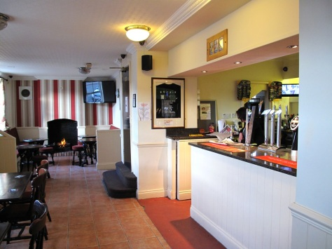 The main bar area