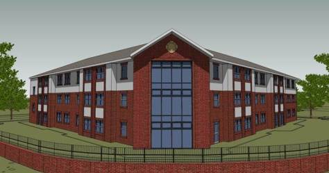 Harden Hall Care Home artist's impression