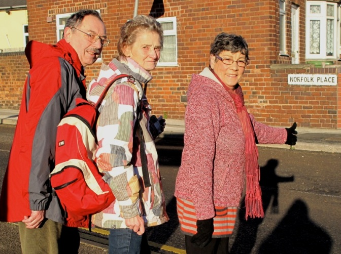 Best feet forward as Councillor leads charity walk