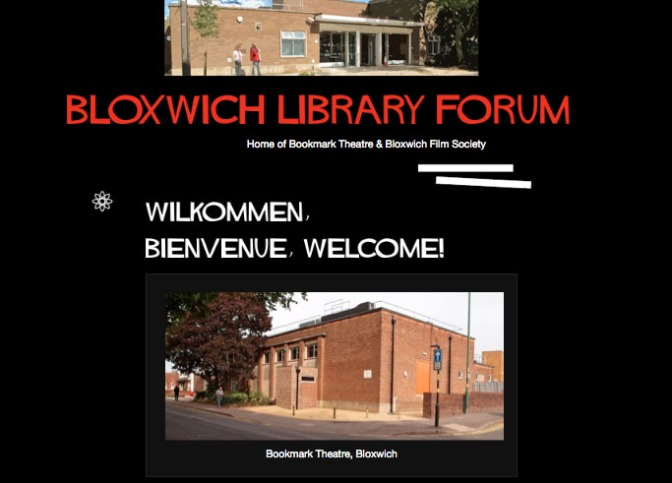 Bloxwich Library Forum Blog