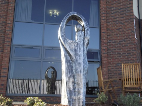Harden Hall sculpture