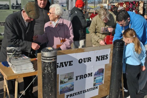 Labour in Bloxwich NHS Petition 2 George Makin