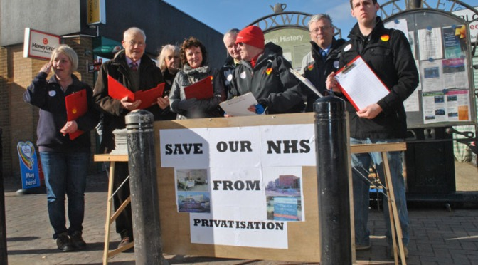Walsall Labour petitions against NHS bill