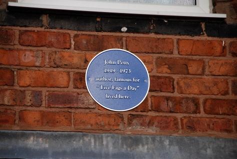 John Petty's plaque restored.