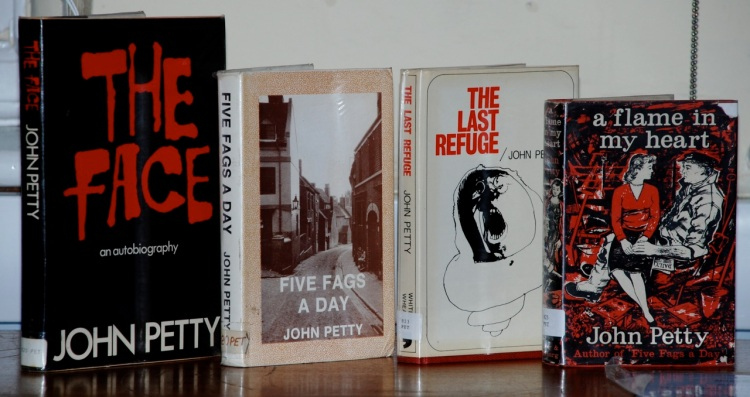 John Petty's Books at Walsall Local History Centre.