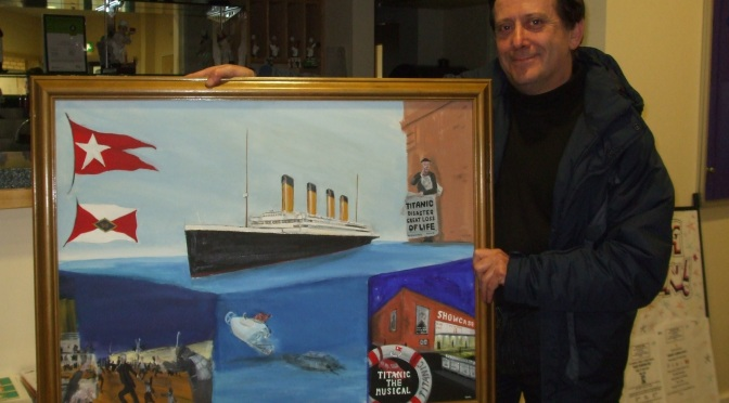 Titanic event floated at Stan Ball Centre this Friday