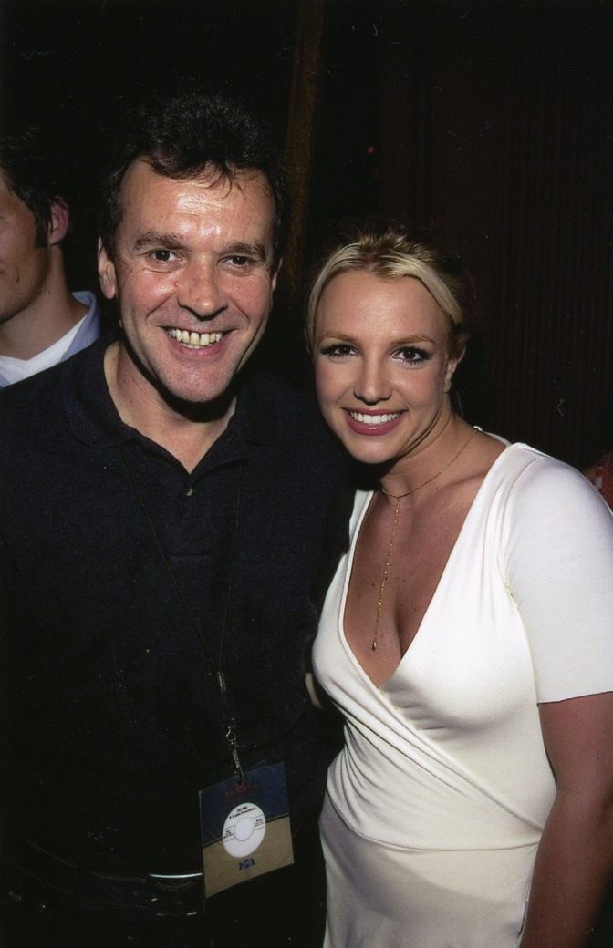 Steve Jenkins with Britney Spears