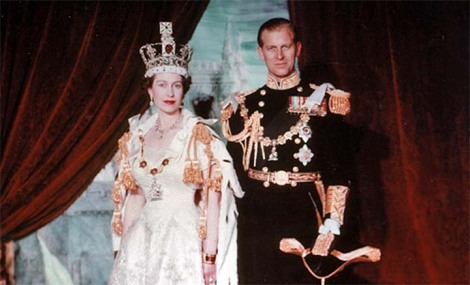Her Majesty the Queen and Prince Philip, 1953.