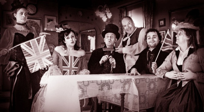 Have a Jolly Bostin' Jubilee Jamboree in Old Wedgbury Town!
