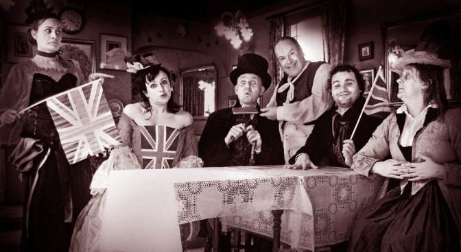 Have a Jolly Bostin' Jubilee Jamboree in Old Wedgbury Town!