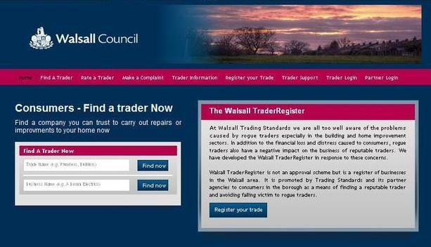 Council revamps registration website for reliable tradesmen
