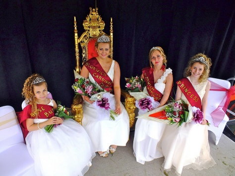 2012 Bloxwich Carnival Rosebud Megan Leigh Small, 2012 Bloxwich Carnival Queen Alice Jones (on the new Diamond Jubliee Carnival Throne), 2011 Queen Abigail Nicholls, 2012 Princess Amelia Ellis