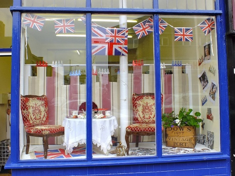 Diamond Jubilee window by Children and Baby Shop for Life