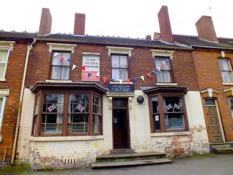 The Turf Tavern in Diamond Jubilee trim