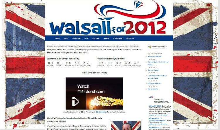 Walsall for 2012 website