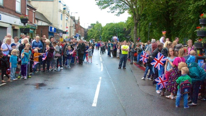 A Torchbearers' Eye View of Bloxwich High Street
